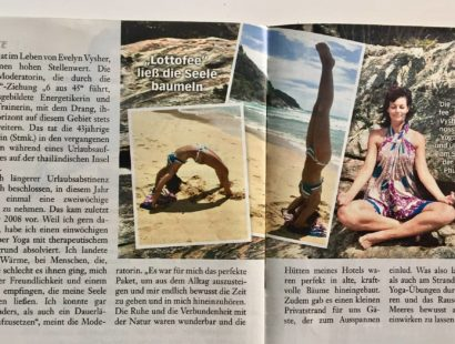 Yoga in Thailand – Die GANZE WOCHE berichtet
