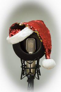 Mikrofon Weihnachten