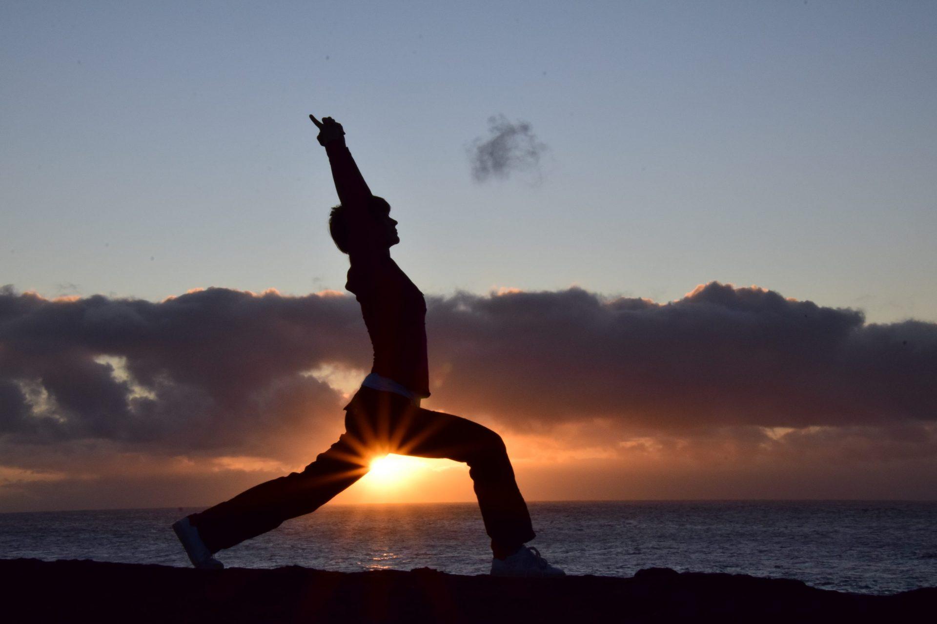 Lanzarote Abendstimmung Yogafoto von Evelyn Fischereder, lyn yoga