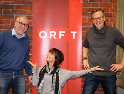 Interviews für Radio Tirol, Radio 2000 und Radio Osttirol