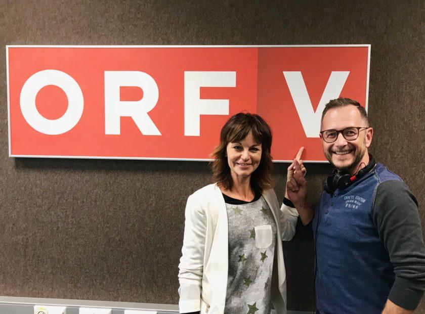 LYN VYSHER zu Gast bei RADIO VORALRBERG
