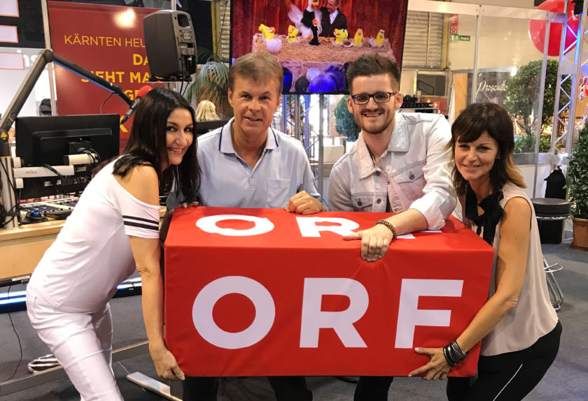 LYN VYSHER zu Gast bei Radio Kärnten auf der Herbstmesse 2018