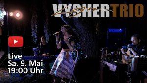 livekonzert auf YouTube mit dem lyn vysher trio