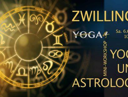 Yoga und Astrologie Workshop mit LYN YOGA – Thema Zwillinge