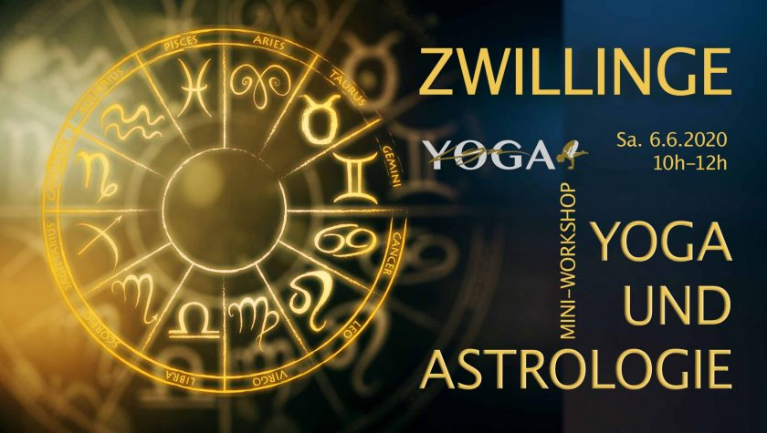 Yoga und Astrologie Workshop mit LYN YOGA – Thema Zwillinge
